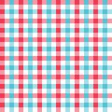 Seamless Gingham Pattern stock illustration