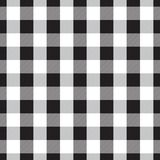 Seamless Gingham Pattern royalty free illustration