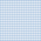 Seamless Gingham, Pastel Blue Stock Images