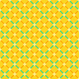 Seamless gingham squares background pattern Royalty Free Stock Photography