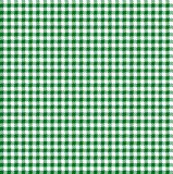 Seamless Gingham St. Patrick`s Day pattern royalty free stock photography