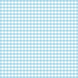 Seamless Gingham, Turquoise Royalty Free Stock Photo