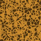 Seamless Giraffe Animal Fur Background Royalty Free Stock Photography