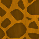 Seamless Giraffe Skin Stock Photography
