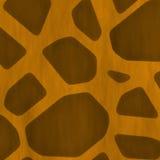 Seamless Giraffe Skin stock photography