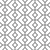 Seamless Girih Geometric pattern. Stock Photography