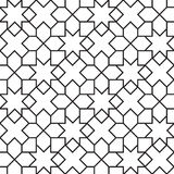 Seamless Girih Geometric pattern. Royalty Free Stock Photography
