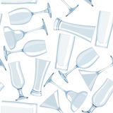 Seamless glass pattern in vector Royalty Free Stock Photo