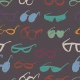 Seamless glasses pattern Stock Photos