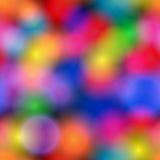 Seamless glittering bokeh texture. Vector seamless, elegant glittering bokeh backround texture stock illustration