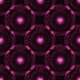 Seamless glowing pink pattern Stock Images