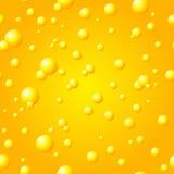 Seamless Gold Bubble Pattern Royalty Free Stock Photo