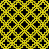 Seamless gold geometric pattern Vector Royalty Free Stock Photos