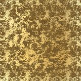 Seamless gold glitter texture isolated on golden background. Vector illustration for shimmer background. Sparkle sequin tinsel. Yellow bling. For sale gift card vector illustration