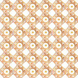 Seamless gold pattern Stock Photos