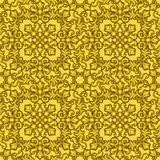 Seamless Gold Pattern Stock Image