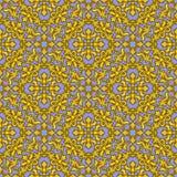 Seamless Gold Pattern Royalty Free Stock Photos