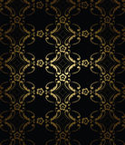 Seamless gold pattern. Vector illustration gold seamless pattern Royalty Free Stock Photography
