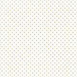 Seamless gold Polka dot pattern. Just drop to swatches and enjoy! EPS 10 stock illustration