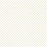 Seamless gold Polka dot pattern. Just drop to swatches and enjoy EPS 10 vector illustration