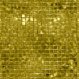Seamless gold sparking and glittering mosaic background Stock Photo