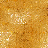 Seamless gold texture Royalty Free Stock Images