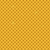 Seamless gold upholstery background pattern. Royalty Free Stock Image