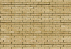 Seamless Golden brick wall for text. And background Royalty Free Stock Photo