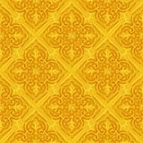 Seamless golden decoration Stock Image