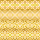 Seamless Golden  Floral Patterns Royalty Free Stock Image