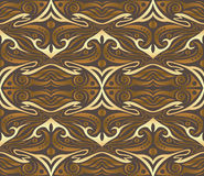 Seamless golden  pattern Royalty Free Stock Images