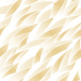 Seamless golden pattern Stock Images