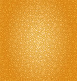 Seamless golden pattern. Cartoon cute design. Flor Royalty Free Stock Photography