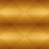 Seamless golden pattern with triangle . Geometric design for business presentations. Luxury abstract background. Polygonal mosaic. Web template. Vector Royalty Free Stock Images