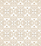 Seamless golden royal wallpaper Royalty Free Stock Photo