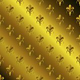 Seamless golden textured pattern Royalty Free Stock Photos