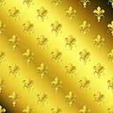 Seamless golden textured pattern. Digitally generated image of seamless golden textured pattern Stock Image
