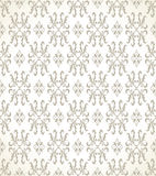 Seamless golden wallpaper Royalty Free Stock Image