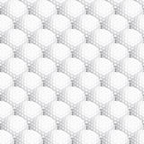 Seamless golf ball background Stock Photo