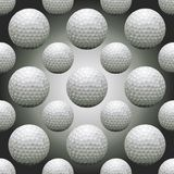 Seamless Golf Balls. Seamless background illustration of repeating golf balls Stock Photos