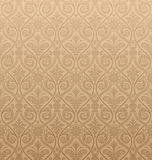 Seamless Gothic Damask Wallpaper. The pattern can be repeated with the transform effect in Illustrator, or with Define Pattern in Photoshop Royalty Free Stock Photos