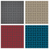 Seamless gothic pattern Stock Photos