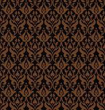 Seamless gothic vector pattern Royalty Free Stock Image
