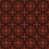 Seamless gothic vector pattern Stock Image