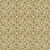 Seamless gothic vector pattern Stock Images