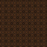 Seamless gothic vector pattern Royalty Free Stock Photo