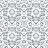 Seamless grå färg mönstrar Royaltyfri Foto