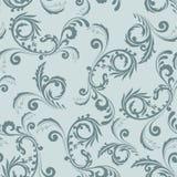 seamless grå prydnad Royaltyfri Bild