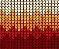 Seamless gradient knitting pattern Royalty Free Stock Photos