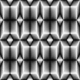 Seamless Gradient Pattern. 3d Abstract Geometric Texture Stock Photos